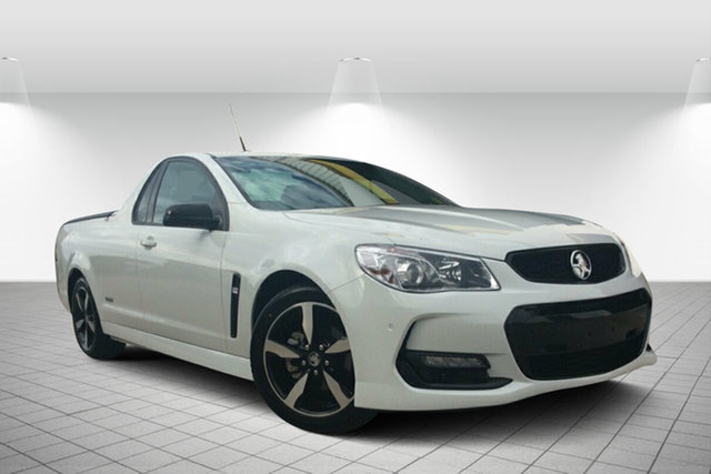 Used Holden Ute VF II MY16 SV6 Ute, 2016 Holden Ute VF II MY16 SV6 Ute White 6 Speed Sports Automatic Utility