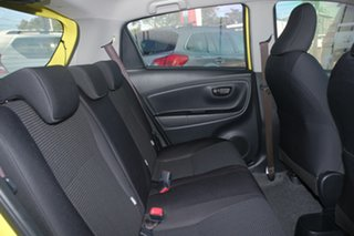 2015 Toyota Yaris NCP130R Ascent Luminous Yellow/grey 4 Speed Automatic Hatchback