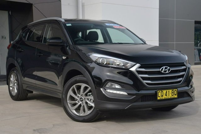 Used Hyundai Tucson TL2 MY18 Active AWD, 2018 Hyundai Tucson TL2 MY18 Active AWD Black 6 Speed Sports Automatic Wagon