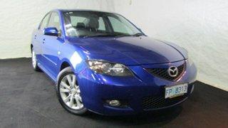 2007 Mazda 3 BK10F2 Maxx Sport Blue 5 Speed Manual Sedan.