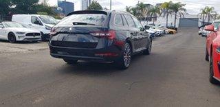 2018 Skoda Superb NP MY19 162TSI DSG Black 6 Speed Sports Automatic Dual Clutch Wagon.