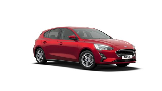 New Ford Focus SA 2019.75MY Ambiente, 2019 Ford Focus SA 2019.75MY Ambiente Ruby Red 6 Speed Automatic Hatchback