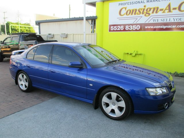 Used Holden Commodore VZ MY06 SVZ, 2006 Holden Commodore VZ MY06 SVZ Blue 4 Speed Automatic Sedan