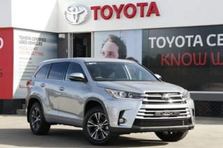 2018 Toyota Kluger GSU50R GX 2WD Silver Storm 8 Speed Sports Automatic Wagon.