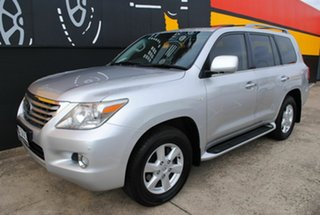 2008 Lexus LX570 URJ201R Sports Luxury Premium Silver 6 Speed Sports Automatic Wagon