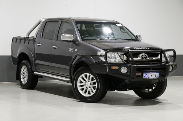 Used Toyota Hilux GGN25R 09 Upgrade SR5 (4x4), 2010 Toyota Hilux GGN25R 09 Upgrade SR5 (4x4) Grey 5 Speed Manual Dual Cab Pick-up