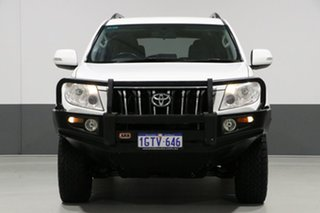 2012 Toyota Landcruiser Prado KDJ150R 11 Upgrade GXL (4x4) White 6 Speed Manual Wagon.