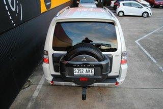2010 Mitsubishi Pajero NT MY11 RX Pearl White 5 Speed Sports Automatic Wagon