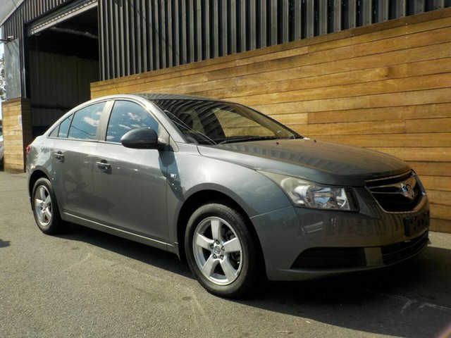 Used Holden Cruze JG CD, 2010 Holden Cruze JG CD Grey 6 Speed Sports Automatic Sedan
