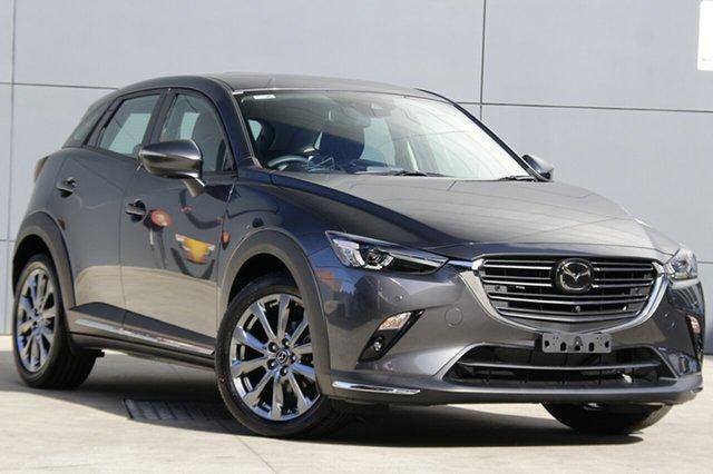 New Mazda CX-3 DK2W7A Akari SKYACTIV-Drive FWD LE, 2019 Mazda CX-3 DK2W7A Akari SKYACTIV-Drive FWD LE Machine Grey 6 Speed Sports Automatic Wagon