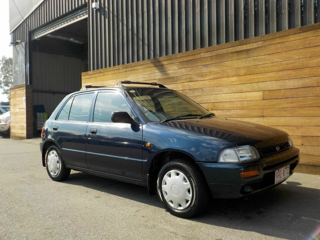 Used Daihatsu Charade G200RS CS, 1994 Daihatsu Charade G200RS CS Blue 5 Speed Manual Hatchback