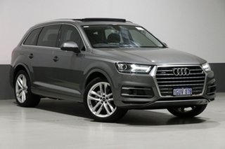 2016 Audi Q7 4M MY17 3.0 TDI Quattro (160kW) Graphite 8 Speed Automatic Tiptronic Wagon.