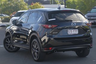 2017 Mazda CX-5 KF4WLA Akera SKYACTIV-Drive i-ACTIV AWD Black 6 Speed Sports Automatic Wagon.