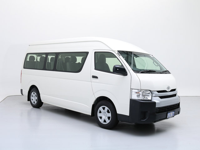 Used Toyota HiAce KDH223R MY16 Commuter (12 Seats), 2016 Toyota HiAce KDH223R MY16 Commuter (12 Seats) White 4 Speed Automatic Bus