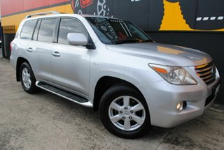 2008 Lexus LX570 URJ201R Sports Luxury Premium Silver 6 Speed Sports Automatic Wagon.