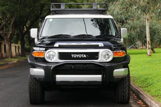 2013 Toyota FJ Cruiser GSJ15R Black 5 Speed Automatic Wagon.