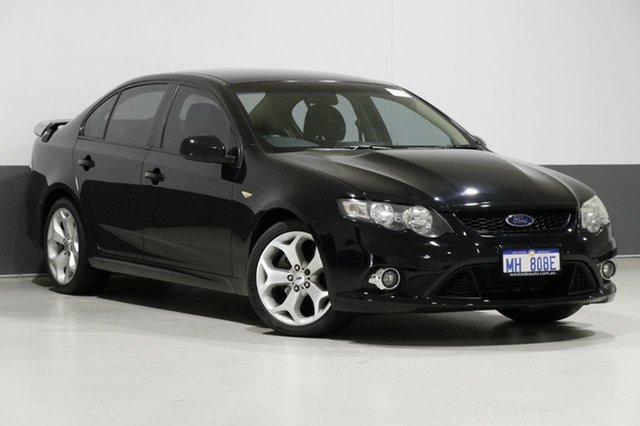 Used Ford Falcon FG XR8, 2009 Ford Falcon FG XR8 Black 6 Speed Auto Seq Sportshift Sedan