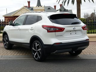 2018 Nissan Qashqai J11 Series 2 Ti X-tronic Ivory Pearl 1 Speed Constant Variable Wagon.