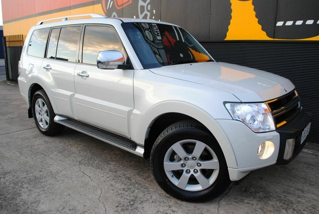 Used Mitsubishi Pajero NT MY11 RX, 2010 Mitsubishi Pajero NT MY11 RX Pearl White 5 Speed Sports Automatic Wagon