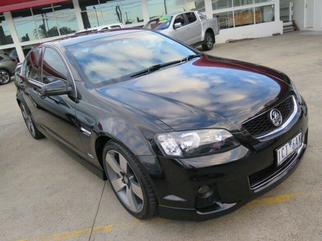 Used Holden Commodore VE II MY12.5 SV6 Z Series, 2013 Holden Commodore VE II MY12.5 SV6 Z Series Black/Grey 6 Speed Sports Automatic Sedan