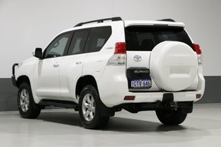 2012 Toyota Landcruiser Prado KDJ150R 11 Upgrade GXL (4x4) White 6 Speed Manual Wagon