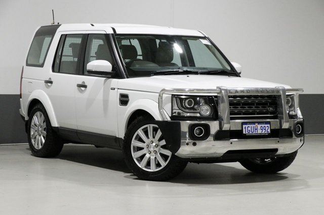 Used Land Rover Discovery MY14 3.0 TDV6, 2014 Land Rover Discovery MY14 3.0 TDV6 White 8 Speed Automatic Wagon