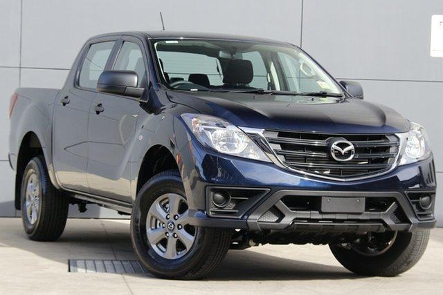New Mazda BT-50 UR0YG1 XT 4x2 Hi-Rider, 2019 Mazda BT-50 UR0YG1 XT 4x2 Hi-Rider Deep Crystal Blue 6 Speed Sports Automatic Utility