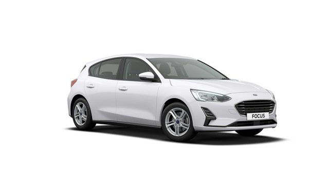 New Ford Focus SA 2019.25MY Ambiente, 2019 Ford Focus SA 2019.25MY Ambiente Frozen White 6 Speed Automatic Hatchback