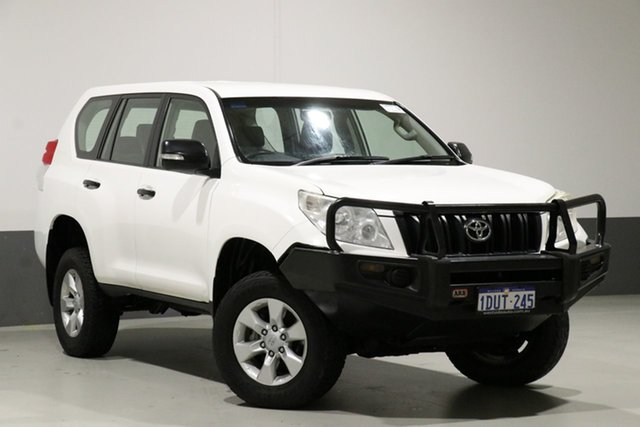 Used Toyota Landcruiser Prado KDJ150R GX (4x4), 2011 Toyota Landcruiser Prado KDJ150R GX (4x4) White 6 Speed Manual Wagon