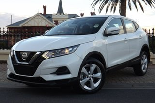 2018 Nissan Qashqai J11 Series 2 ST X-tronic Ivory Pearl 1 Speed Constant Variable Wagon