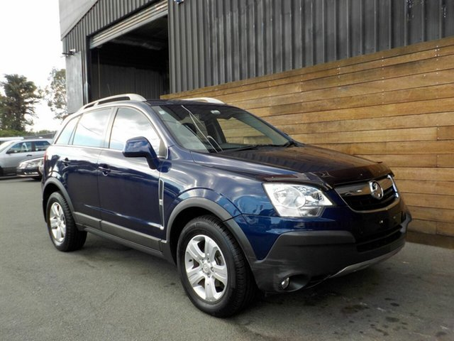 Used Holden Captiva CG MY10 5, 2010 Holden Captiva CG MY10 5 Blue 5 Speed Manual Wagon