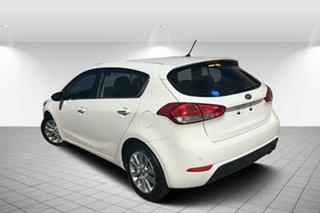 2014 Kia Cerato YD MY14 SI White 6 Speed Sports Automatic Hatchback