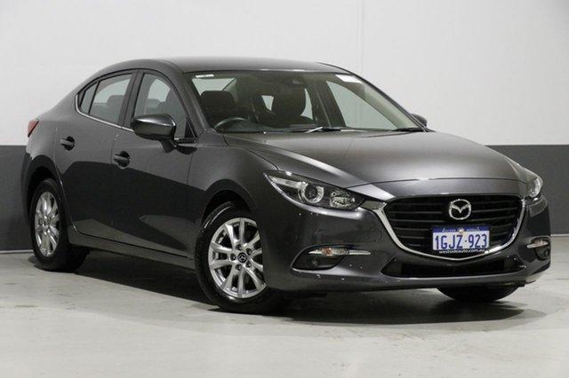 Used Mazda 3 BN MY17 Maxx, 2017 Mazda 3 BN MY17 Maxx Grey 6 Speed Manual Sedan