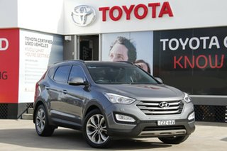 2015 Hyundai Santa Fe DM Series II (DM3) Highlander CRDi (4x4) Grey 6 Speed Automatic Wagon.