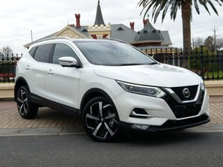 2018 Nissan Qashqai J11 Series 2 Ti X-tronic Ivory Pearl 1 Speed Constant Variable Wagon