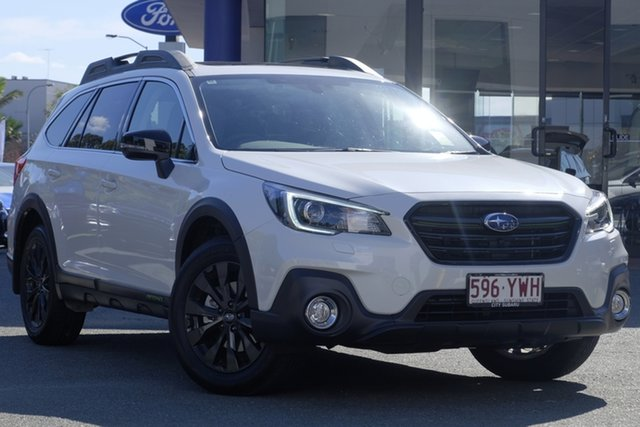 Demo Subaru Outback B6A MY19 2.5i-X CVT AWD, 2019 Subaru Outback B6A MY19 2.5i-X CVT AWD White Crystal 7 Speed Constant Variable Wagon
