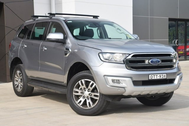 Used Ford Everest UA 2018.00MY Trend 4WD, 2017 Ford Everest UA 2018.00MY Trend 4WD Grey 6 Speed Sports Automatic Wagon