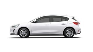 2019 Ford Focus SA 2019.25MY Ambiente Frozen White 6 Speed Automatic Hatchback