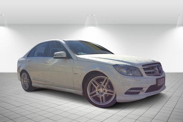 Used Mercedes-Benz C250 CGI W204 MY10 Avantgarde, 2010 Mercedes-Benz C250 CGI W204 MY10 Avantgarde White 5 Speed Sports Automatic Sedan