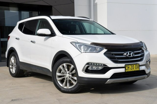 Used Hyundai Santa Fe DM3 MY17 Elite, 2016 Hyundai Santa Fe DM3 MY17 Elite White 6 Speed Sports Automatic Wagon