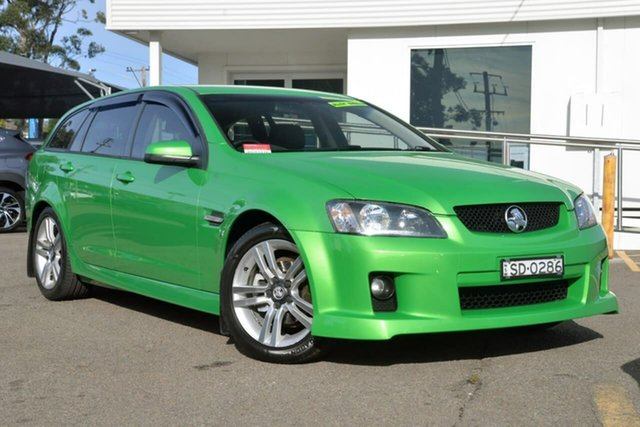 Used Holden Commodore VE MY09.5 SV6 Sportwagon, 2009 Holden Commodore VE MY09.5 SV6 Sportwagon Green 5 Speed Sports Automatic Wagon