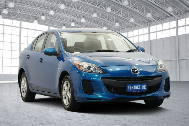 Used Mazda 3 BL10F2 MY13 Neo Activematic, 2013 Mazda 3 BL10F2 MY13 Neo Activematic Blue 5 Speed Sports Automatic Sedan