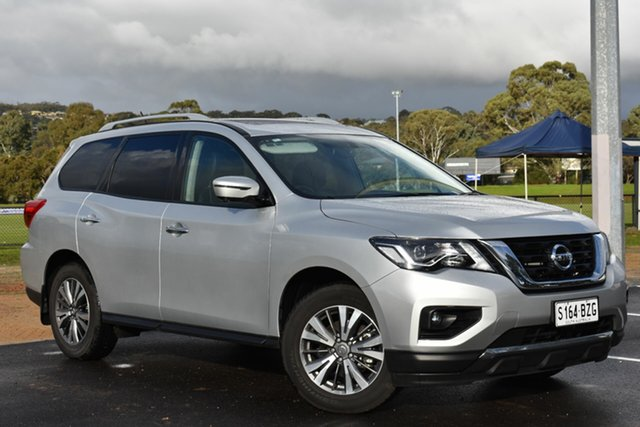 Used Nissan Pathfinder R52 Series II MY17 ST-L X-tronic 2WD, 2018 Nissan Pathfinder R52 Series II MY17 ST-L X-tronic 2WD Silver 1 Speed Constant Variable Wagon