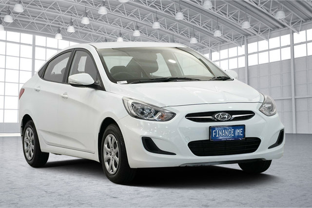 Used Hyundai Accent RB2 Active, 2014 Hyundai Accent RB2 Active Crystal White 4 Speed Sports Automatic Sedan
