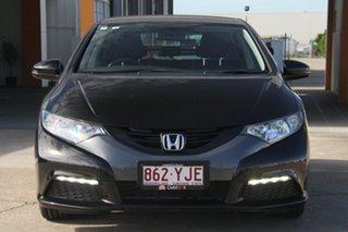 2012 Honda Civic 9th Gen VTi-S Black 5 Speed Sports Automatic Hatchback