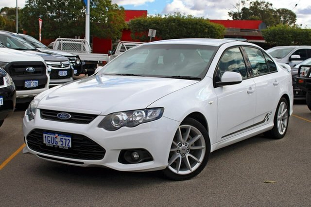 Used Ford Falcon FG MkII XR6, 2013 Ford Falcon FG MkII XR6 White 6 Speed Sports Automatic Sedan