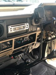 1986 Toyota Landcruiser HJ75 LWB White 5 Speed Manual Utility
