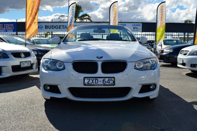 Used BMW 3 Series E93 MY0312 320d Steptronic, 2012 BMW 3 Series E93 MY0312 320d Steptronic White 6 Speed Sports Automatic Convertible