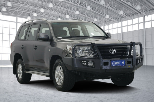 Used Toyota Landcruiser VDJ200R MY10 60th Anniversary, 2010 Toyota Landcruiser VDJ200R MY10 60th Anniversary Graphite 6 Speed Sports Automatic Wagon