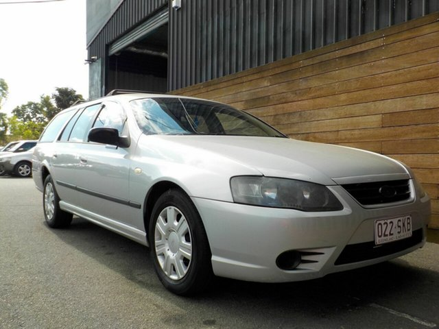 Used Ford Falcon BF Mk II XT, 2008 Ford Falcon BF Mk II XT Silver 4 Speed Sports Automatic Wagon